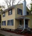 1920 era East Lansing home exterior painted by Full Color Painting LLC