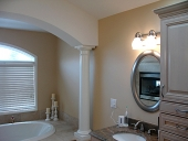 Master bath painting job