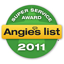 Full Color Painting wins 2011 Angie's List Super Service Award for exterior painting in Lansing house painters